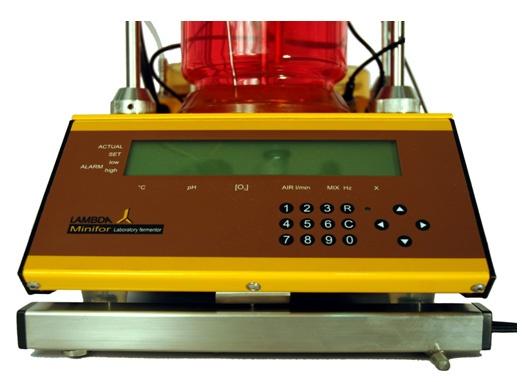 Wägemodul für Chemostaten für automatische Pumpenansteuerung