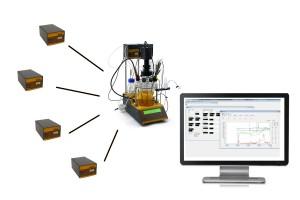 Viergasgemisch Labor MINI-4-GAS
