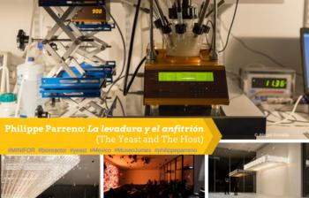 2018-Januar: Mit dem LAMBDA MINIFOR Bioreaktor in La levadura y el anfitrion (Die Hefe und der Wirt) des französischen Künstlers Philippe Parreno im Museo Jumex, Mexiko