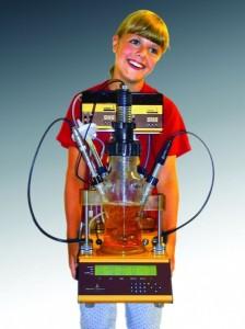 Kinderleichter Fermenter MINIFOR - eines der ersten Modelle
