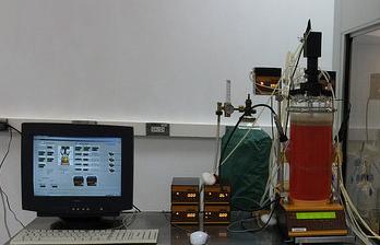 2018-Juli: Hybridomazellkultur im Laborbioreaktor zur Produktion von monoklonalen Antikörper