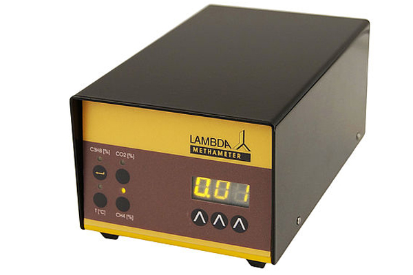 LAMBDA METHAMETER - Messgerät für die Konzentration Methan (% CH4) in der Fermenterabluft
