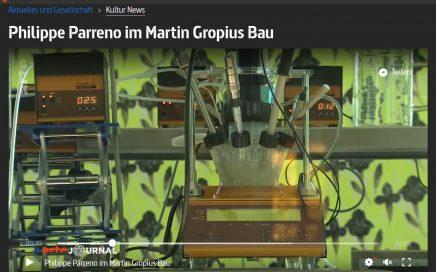 Screenshot Romy Sydow: Beitrag-Philippe Parreno Berlin